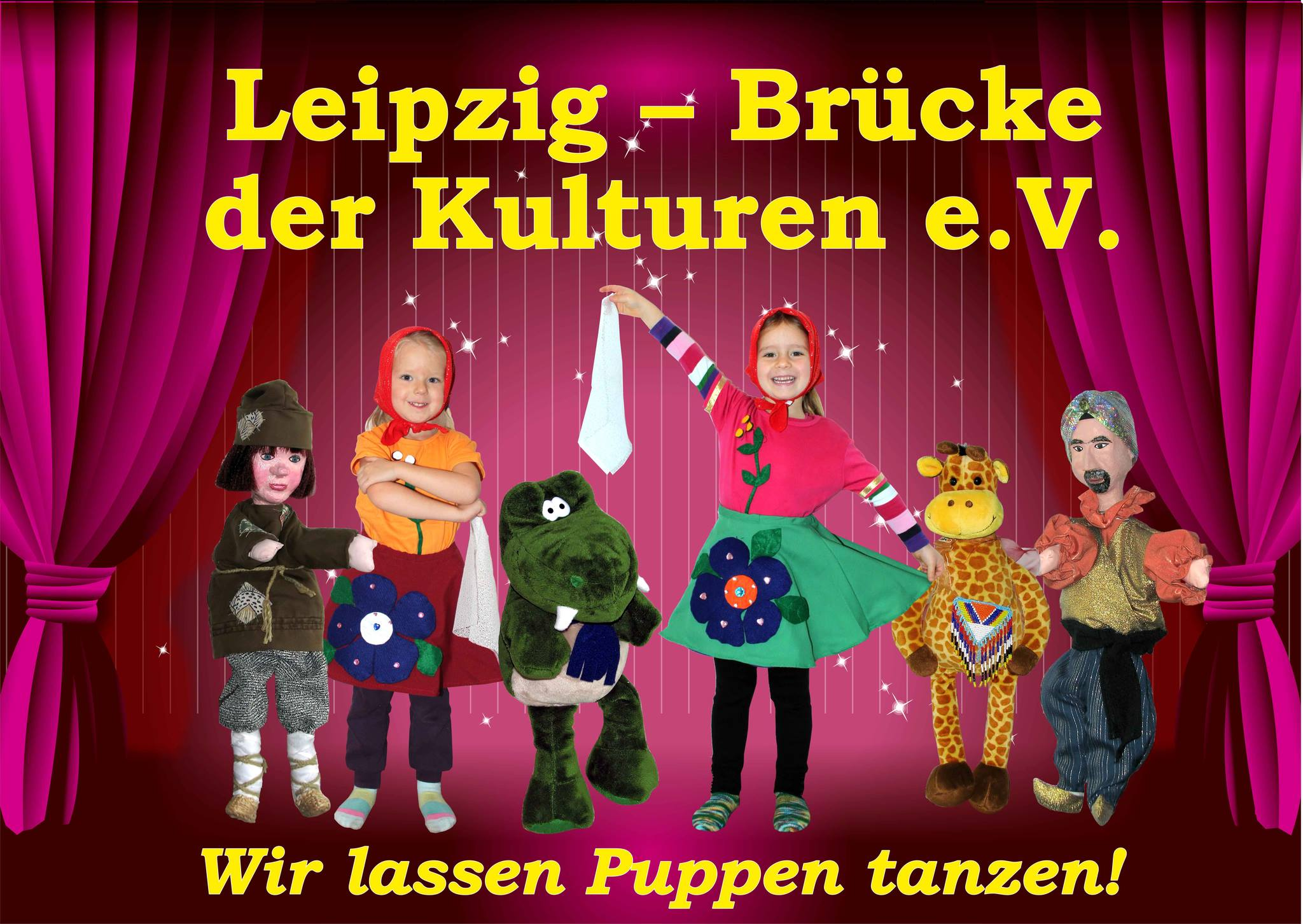 Collage Puppentheater Buratino