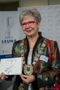 Bürgemeisterin der Stadt Leuna Dr. Dietlind Hagenau