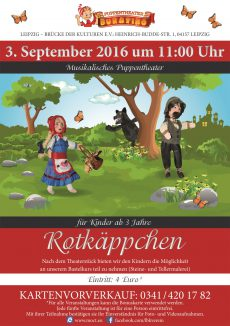 Plakat A1 Rotkäppchen