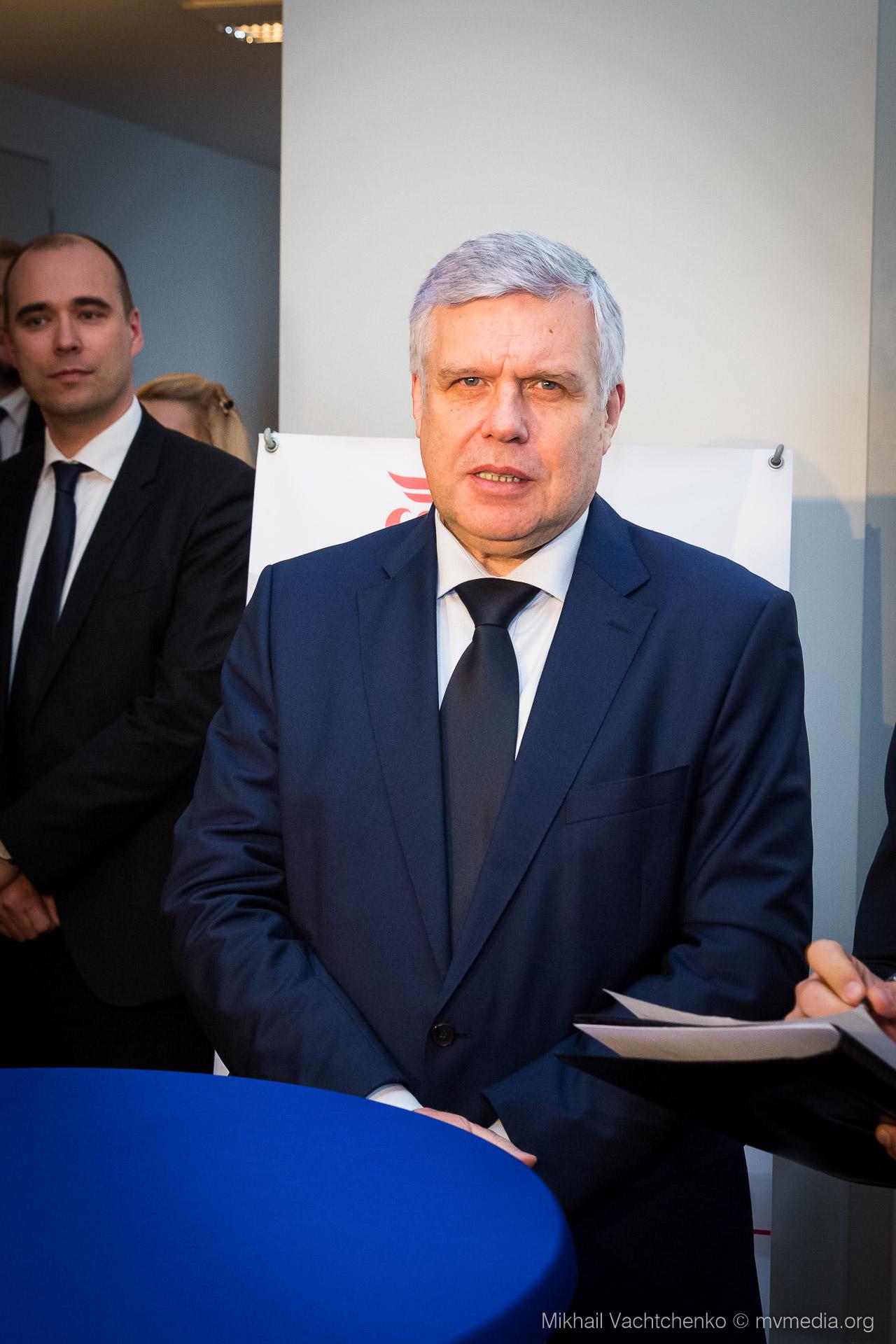 Der Generalkonsul der Russischen Föderation in Leipzig Viacheslav A. Logutov