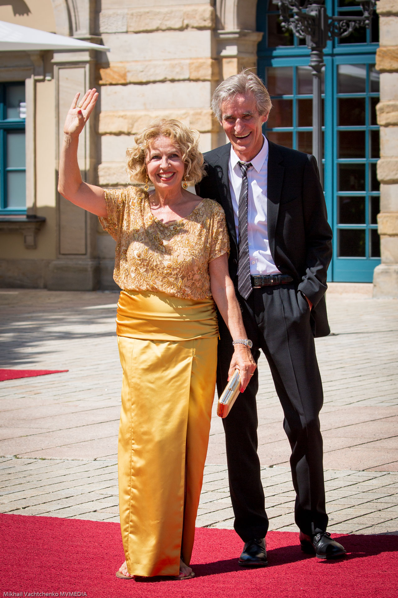 Актриса Микаэла Мэй с супругом Берндом Шадевальд