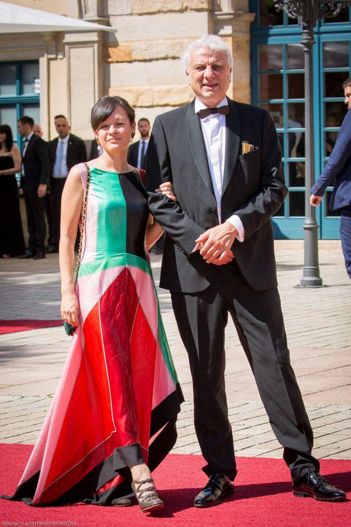Schauspieler Udo Wachtveitl und freundin Lila Schulz