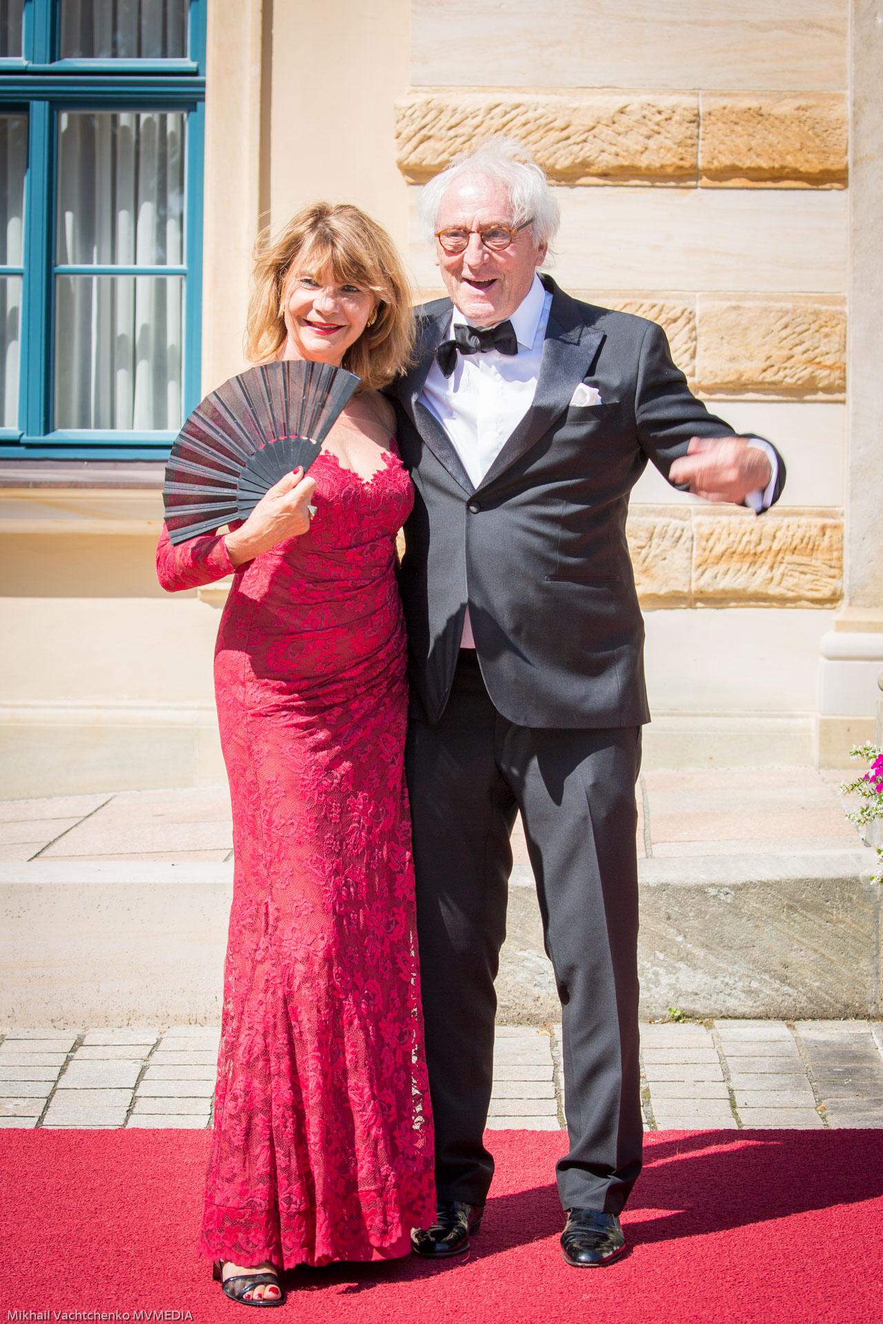 Günther Maria-Halmer mit Ehefrau Claudia