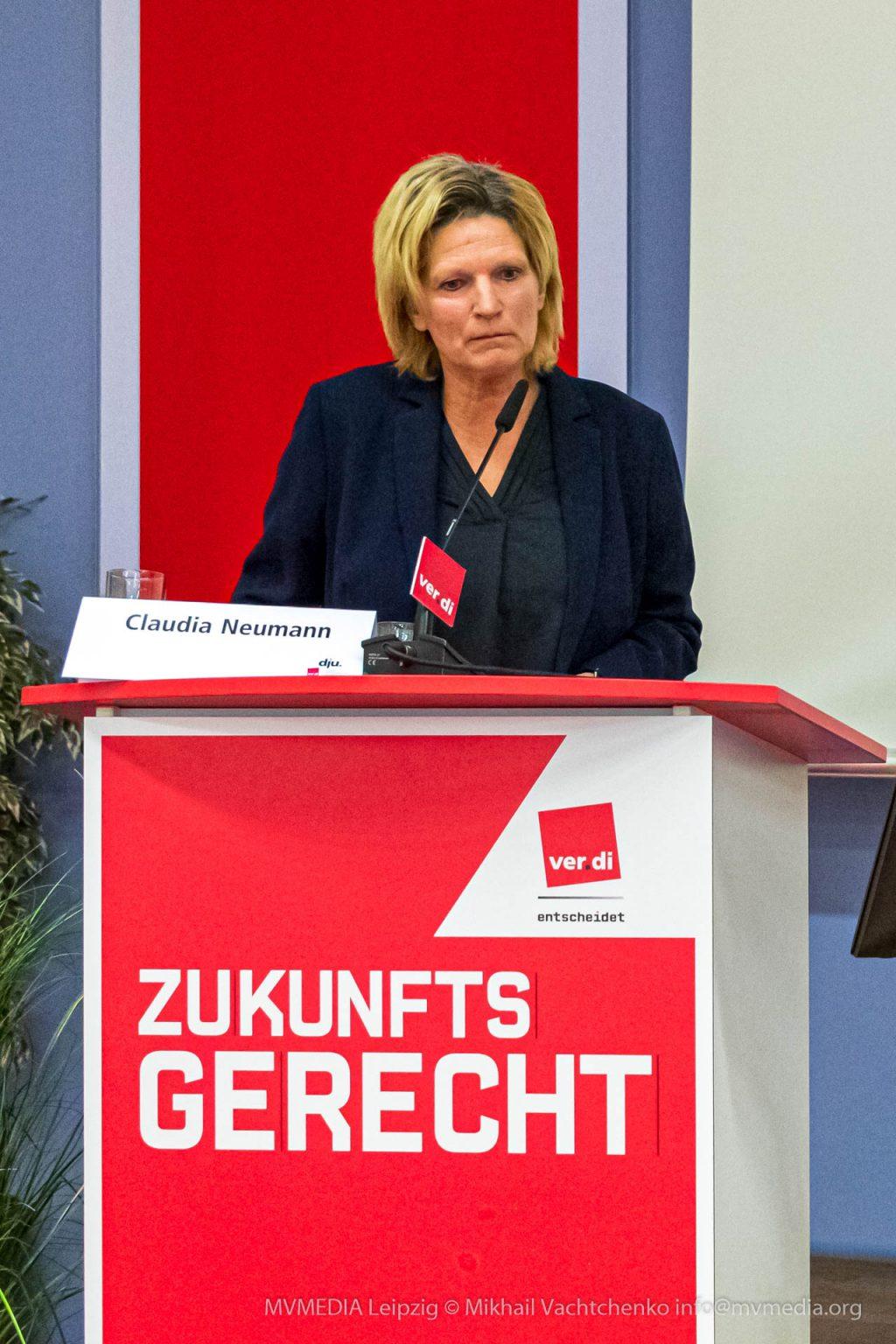 ZDF-Sportreporterin Claudia Neumann