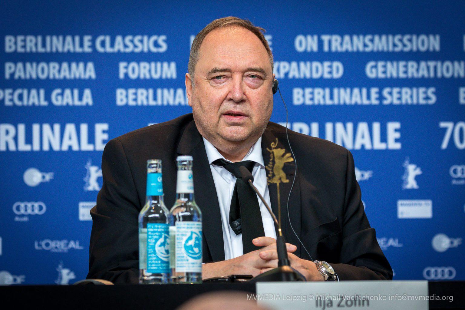 Ilja Zofin Pressekonferenz Berlinale Persian Lessons