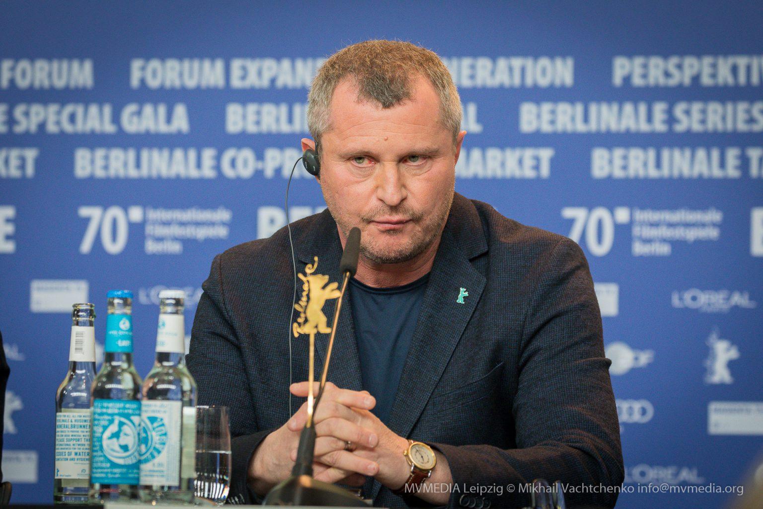 Regisseur Vadim Perelman auf der Pressekonferenz Berlinale Persian Lessons