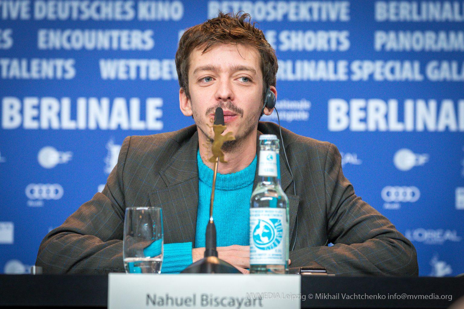 Nahuel Pérez Biscayart Pressekonferenz Berlinale