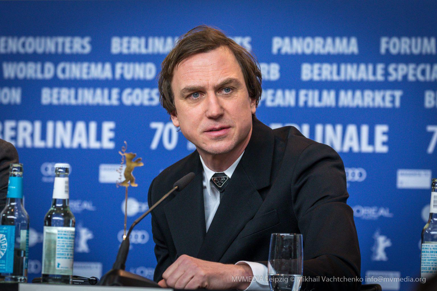 Lars Eidinger Pressekonferenz Berlinale Persian Lessons